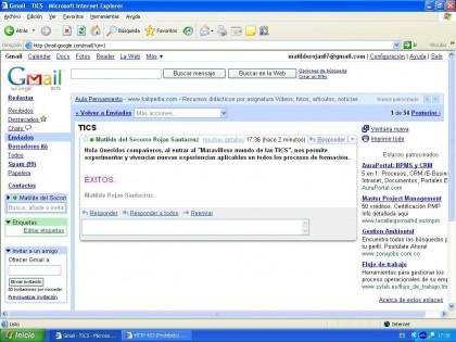 Evidencia 5 de correo electronico