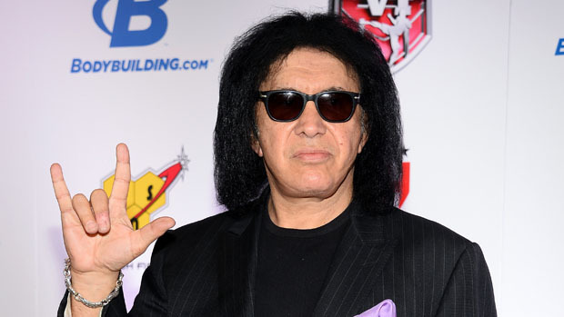 LAS VEGAS, NV - FEBRUARY 07:  Kiss singer/bassist Gene Simmons arrives at the sixth annual Fighters Only World Mixed Martial Arts Awards at The Palazzo Las Vegas on February 7, 2014 in Las Vegas, Nevada.  (Photo by Ethan Miller/Getty Images)