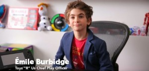 Emile Burbidge / Toys R Us Canada - R New CPO