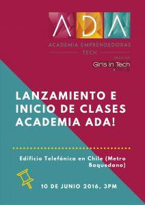 Lanzamiento Academia ADA